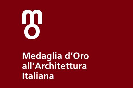 medaglia d'ora ll'architettura italiana