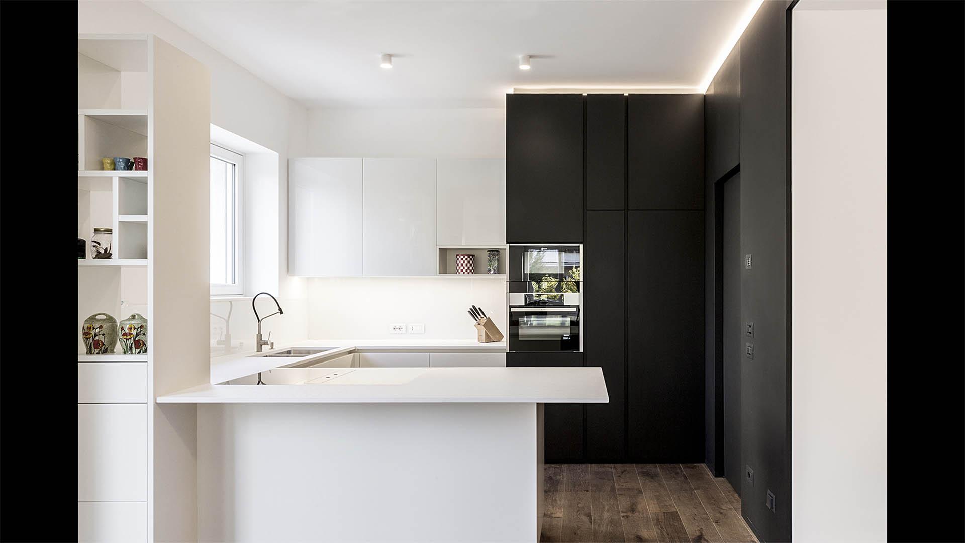 Progetto d'interni appartamento a Bolzano