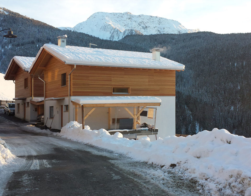 Single house in the mountains in San Martino in the Valdurna, Bolzano