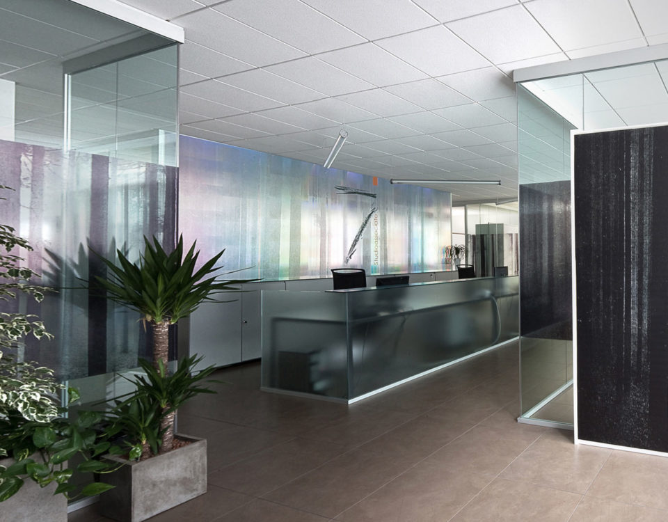 Progetto d'interni per gli uffici di ADLM, Bolzano