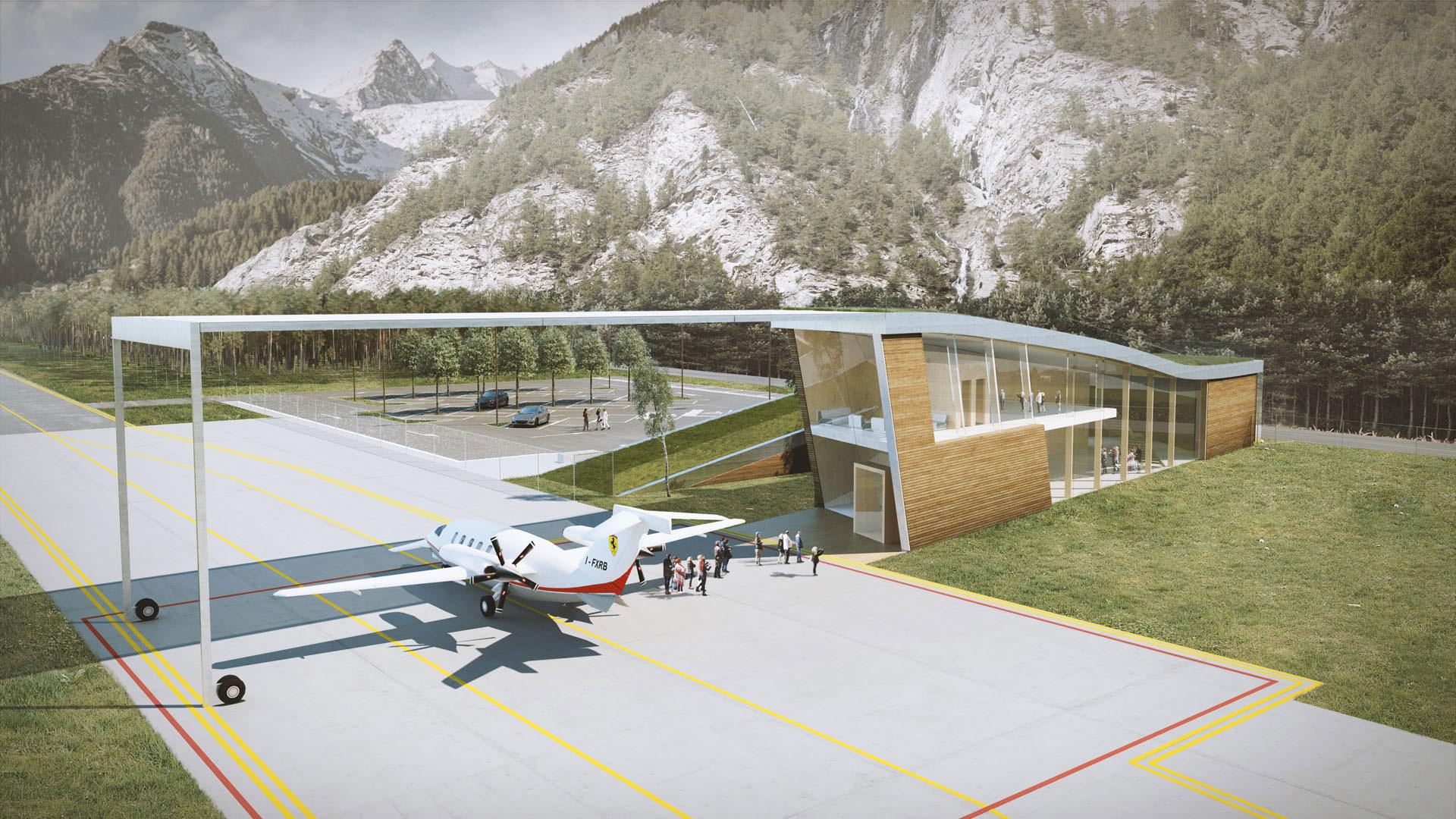 Aeroporto a Cortina d'Ampezzo