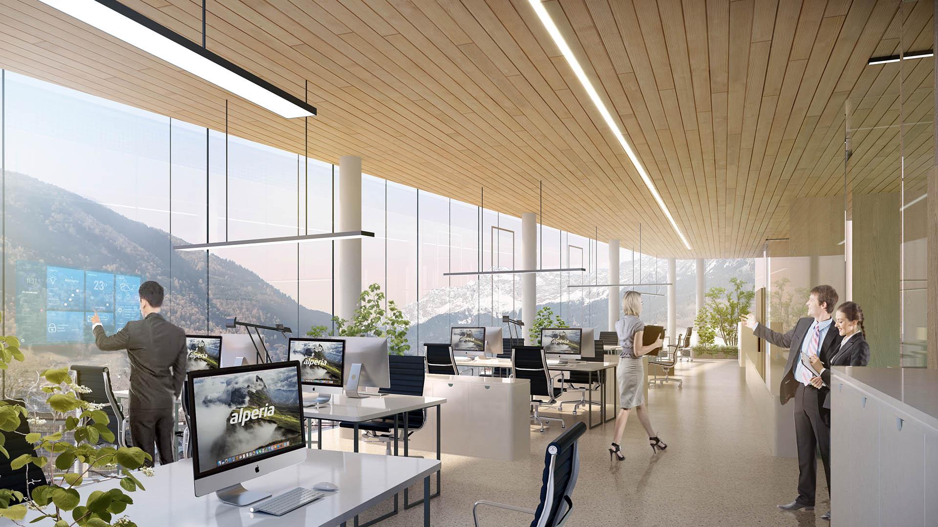 New Alperia headquarters in Merano