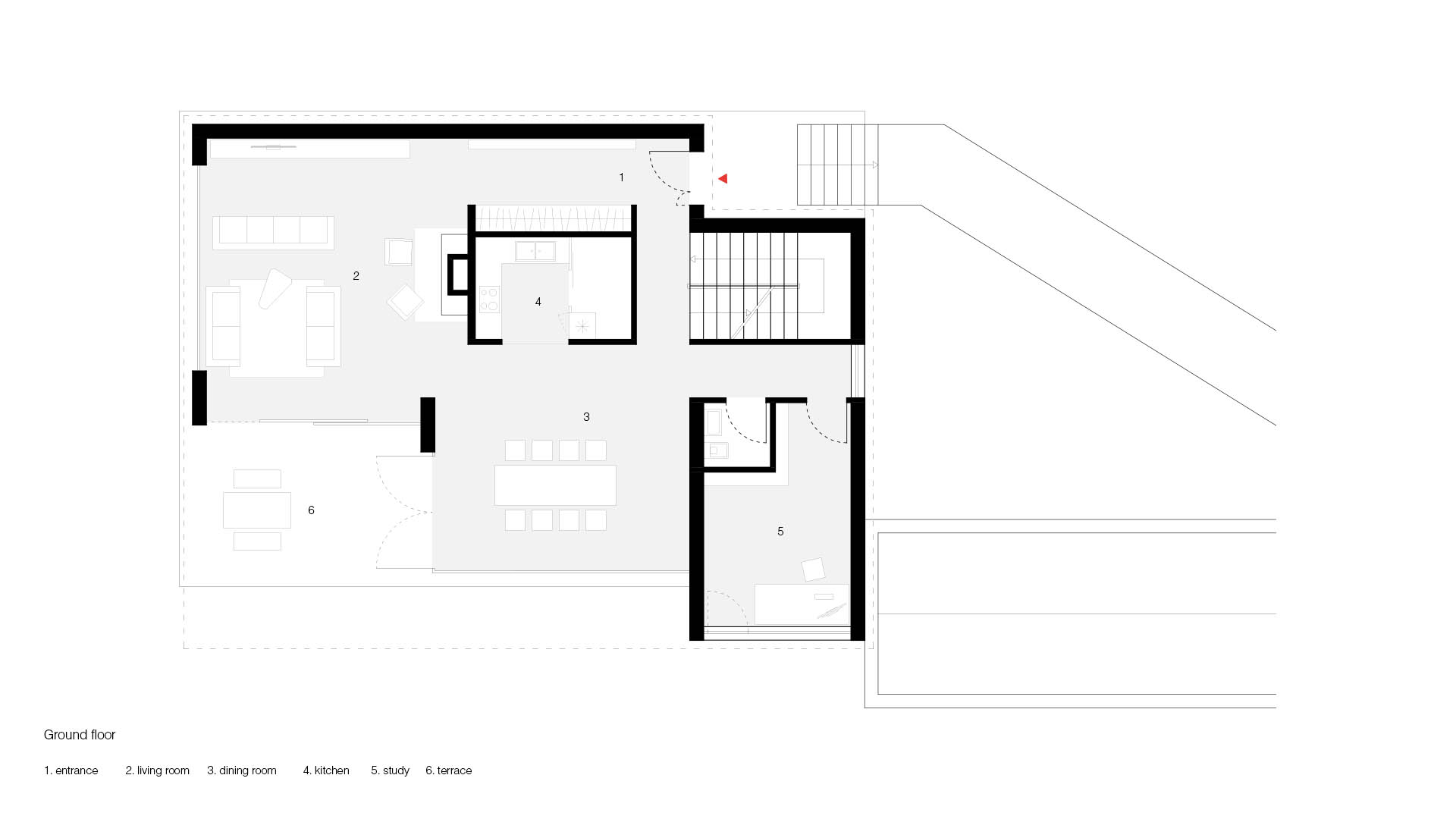 Casa singola in montagna a Canazei in Provincia di Trento