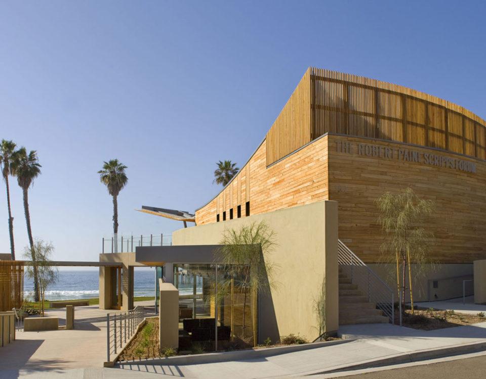Robert Paine Scripps Forum in La Jolla California